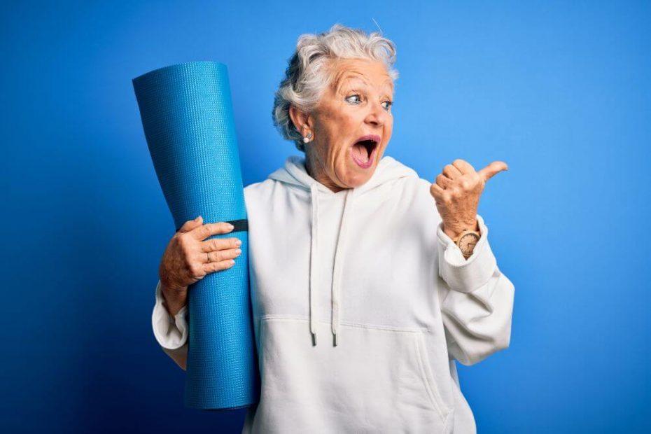 ćwiczenia dla seniora na kręgosłup