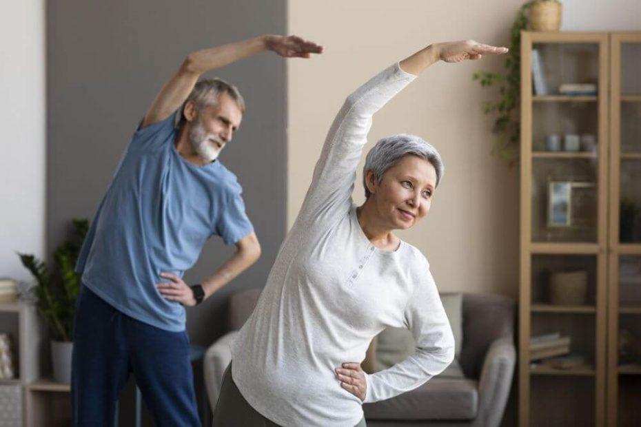 ćwiczenia dla seniora w domu