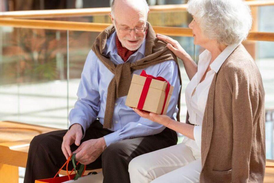 prezent dla seniorów