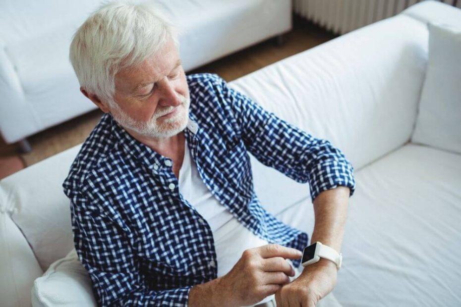 smartwatch dla seniora
